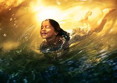 :) (MIRANDA, Bruno) Tags: brasil par brunomiranda garotinhanagua littlegirlinthewater