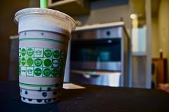 pearl milk tea (alexeinwonderland) Tags: newzealand asian yummy auckland pearlmilktea momotea