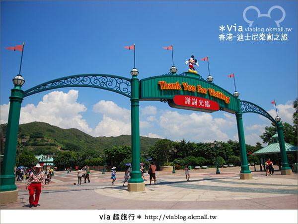 【香港自由行】跟著via玩香港(1)~爆走香港迪士尼樂園7