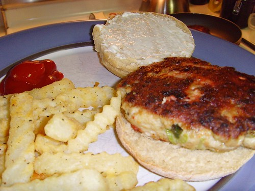 Thanksgiving Dinner Turkey Burgers