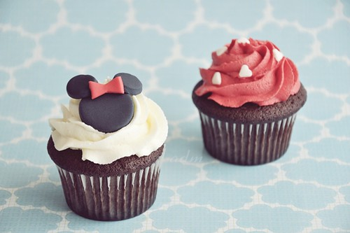 Minnie Mouse Cupcakes 1
