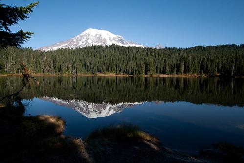 Reflection of Mount Rainier