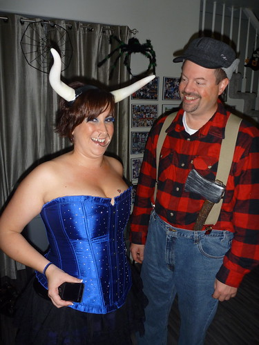 ox with paul bunyan