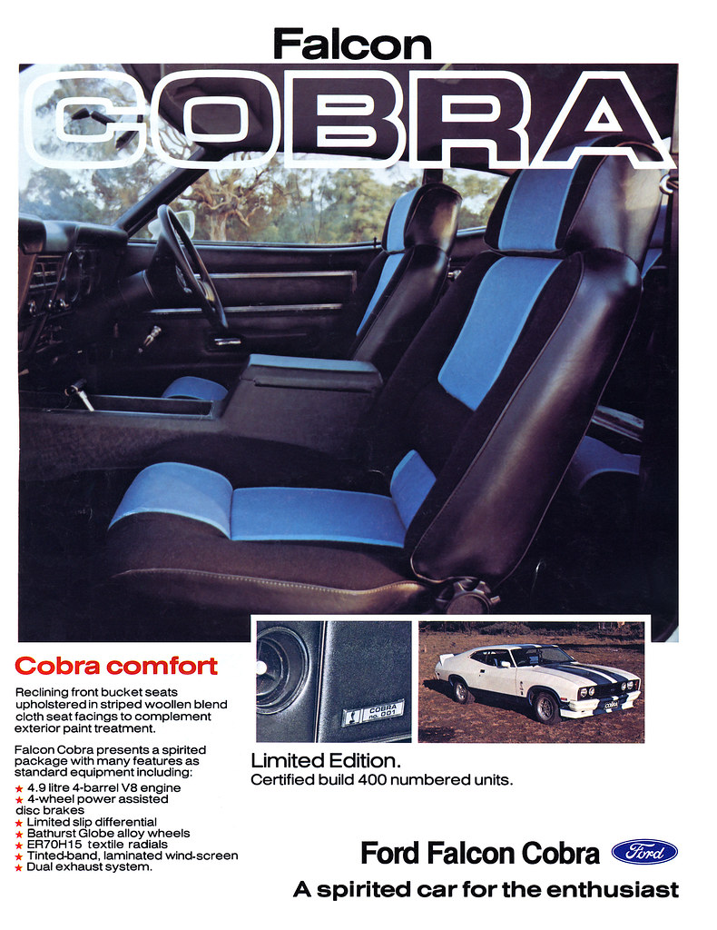 1978 Ford XC Cobra Ad