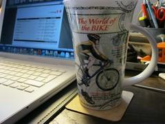 "Dunoon ""World of the bike"" Mug (provinzler) Tags: mug laptop macbook dunoon bike fahrrad"