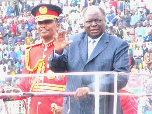 Kibaki; symbol of the ruling class