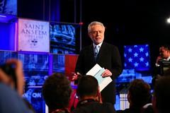 CNN Debates Moderator Wolf Blitzer
