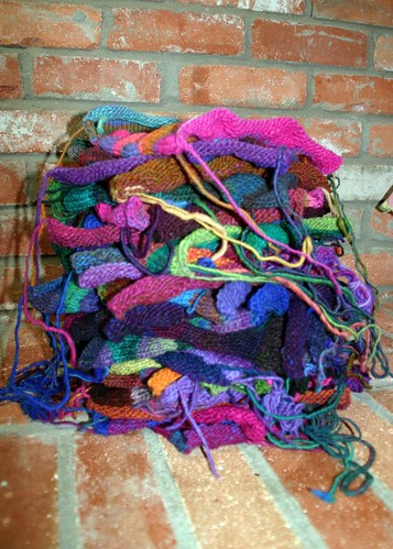 this is what 31 lizard ridge squares look like in one giant unblocked messy pile