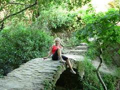 Carol on Trail