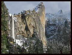 Bridalveil Falls Yosemite National Park - by Jim