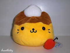 nyanko flan plush (iheartkitty) Tags: plush kawaii flan sanx nyanko iheartkitty