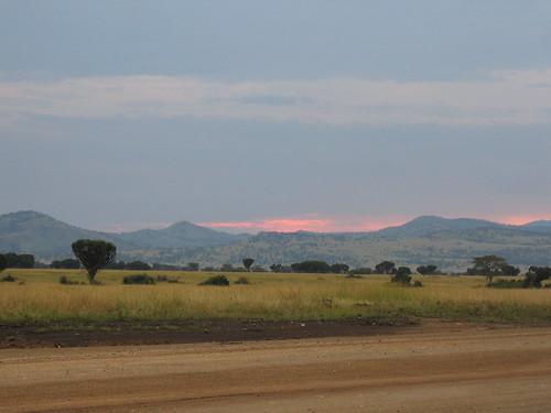 Uganda - QENP Sunset