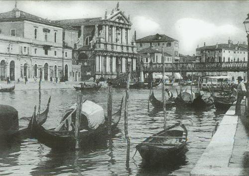 Venezia蠶寄來的明信片