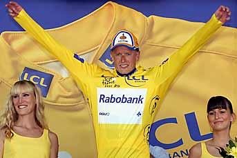 Rasmussen Tour de France lider 15 Julio 2007
