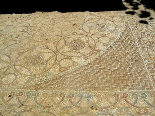 mosaic floor - shilo