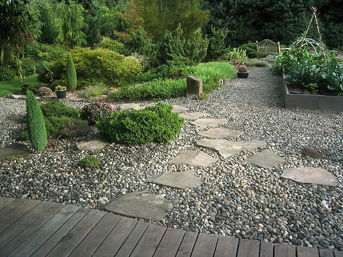 Bon Gravel Garden Design