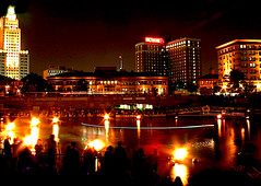 Waterfire by Debbie Nadeau