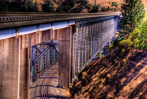 West Branch Feather River Bridge, Oroville, California
