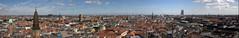 Copenhagen Panorama (zoned.dk) Tags: panorama copenhagen denmark cityhall sealand innercity danmark kbenhavn sjlland rdhus indreby hovedstaden middelalderbyen