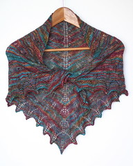 Shetland Triangle shawl - by Spamily