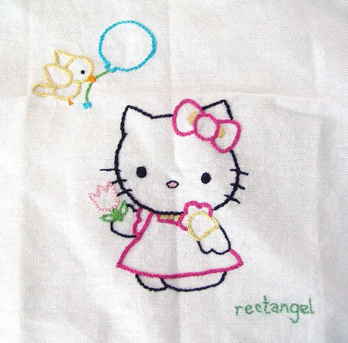 Tea Towel Hello Kitty