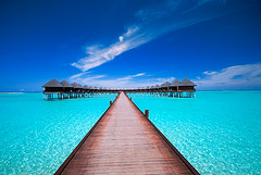 weekend inspiration (muha...) Tags: road travel blue vacation holiday green beach home water beautiful nikon searchthebest sunny maldives sunnyside fresco waterbungalow maldiveislands d80 nikonstunninggallery anawesomeshot diamondclassphotographer goldenvisions