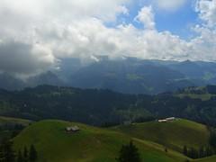 From the summit. (pinkestblack) Tags: lake mountains nature landscape switzerland scenery swissalps dayhike swisscountryside euthal euthaltowillerzell