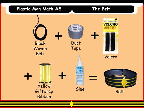 Plastic Man Math #5 - The Belt