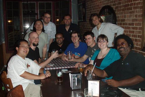 Drinks with the MySQL Campers