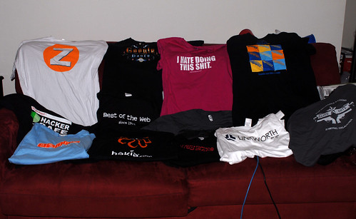 SES San Jose 2007 Schwag: Shirts Only