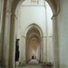 North aisle and transept of Pontigny Abbey