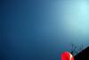 blue (debleau) Tags: blue red sky geotagged balloon bigcalm antenna 2007 geo:tool=yuancc geo:lat=48106228 geo:lon=174335