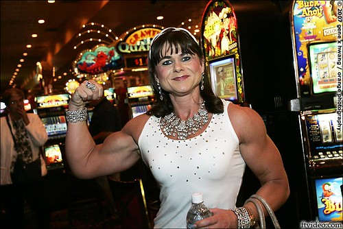Asa Lotbom In Las Vegas For The 2007 Ms. Olympia