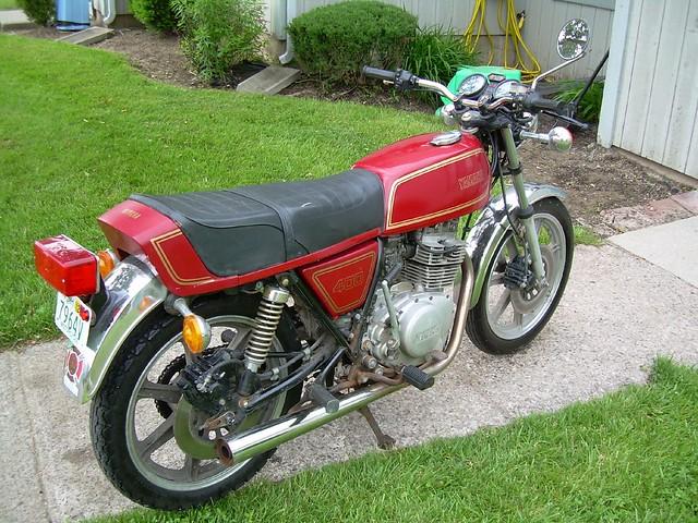 Yamaha XS400 SOHC