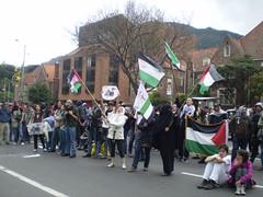 Marcha apoyo a Palestina / Gaza en Bogotá, Colombia - 20090106 - 1061807