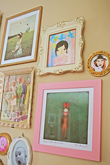 Wall Candy 4 (boopsie.daisy) Tags: pictures pink baby bunny art wall vintage living frames juicy candy room elle spiderweb drew sadie karen cotton mari pastels prints ornate granny decor couture barrymore grannies lenaah blossomnbird antiocialbutterfly