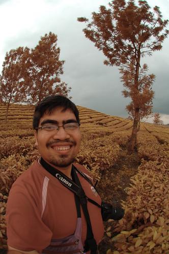 Me @ Kebun Teh Bah Butong, Medan - Sumatera Utara (Unedited Visible IR)