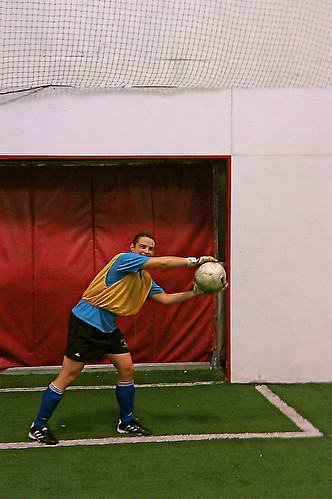 Playing in Net @ Soccer