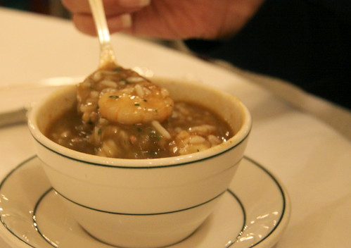 Galatorie's, New Orleans - seafood gumbo