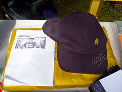 Mark Webber cap