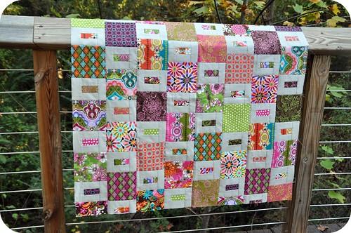 Glam Garden Baby Quilt