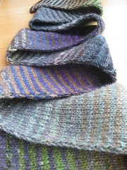 Striped Noro Scarf