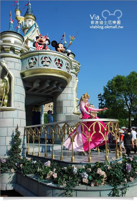 【香港迪士尼】跟著via玩香港(3)~迪士尼卡通人物歡樂巡遊48
