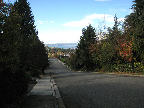 Fall Walk in Edmonds WA