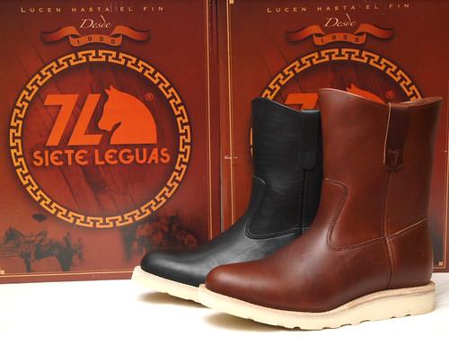 Siete Leguas / Whites Boots