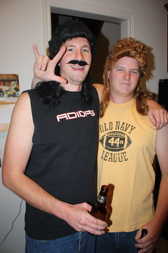 there were lots of great costumes like these guys who went as terry and dean from fubar this may just be something that only canadians get but there were - Puck Bunny Halloween Costume