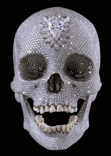Damien Hirst - skull