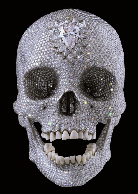 Damien Hurst - skull
