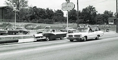 Gross Mortuary Pontiac Ambulance on Emergency Run, Hot Springs, Arkansas, photo taken in 1968. (Dr. Mo) Tags: pcs accident ambulance medicine arkansas bls ems emt hotsprings firstaid emergencymedicine emergencycall staroflife ambulancedriver ambulanceservice deathcare drmo jimmoshinskie grossmortuary grossfuneralhome federalq2 consortambulance bunnydever hotshotrun pontiacambulance funeralcustoms professionalcarsociety scenesafety