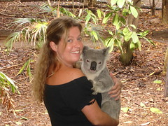 Sarah koala hug2
